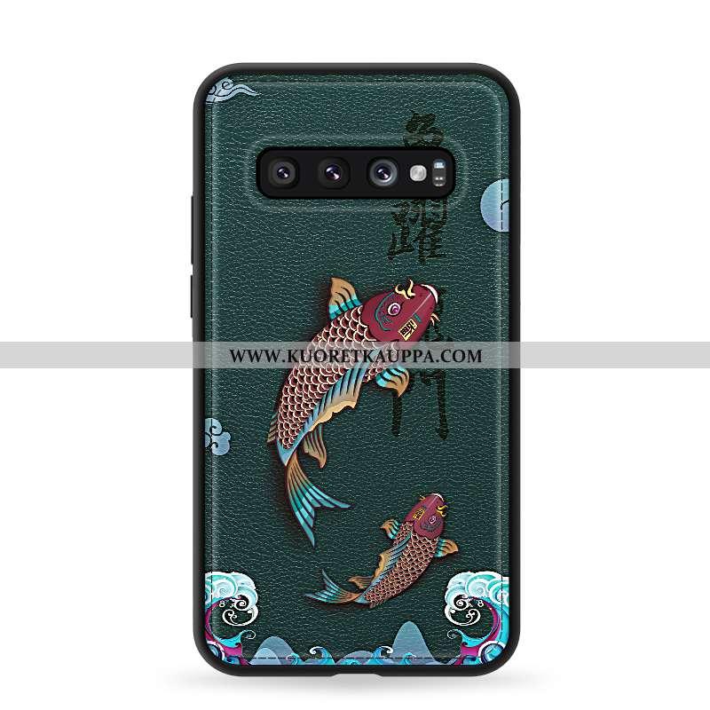 Kuori Samsung Galaxy S10, Kuoret Samsung Galaxy S10, Kotelo Samsung Galaxy S10 Suuntaus Pehmeä Neste