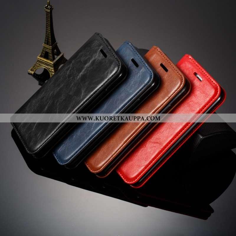 Kuori Samsung Galaxy S10e, Kuoret Samsung Galaxy S10e, Kotelo Samsung Galaxy S10e Nahka Pehmeä Neste