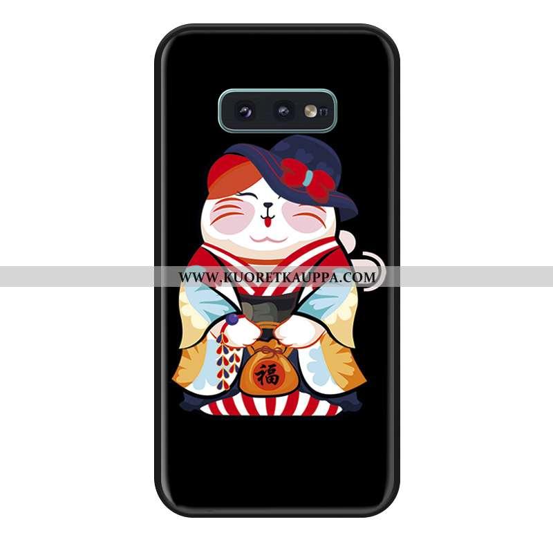 Kuori Samsung Galaxy S10e, Kuoret Samsung Galaxy S10e, Kotelo Samsung Galaxy S10e Silikoni Musta All
