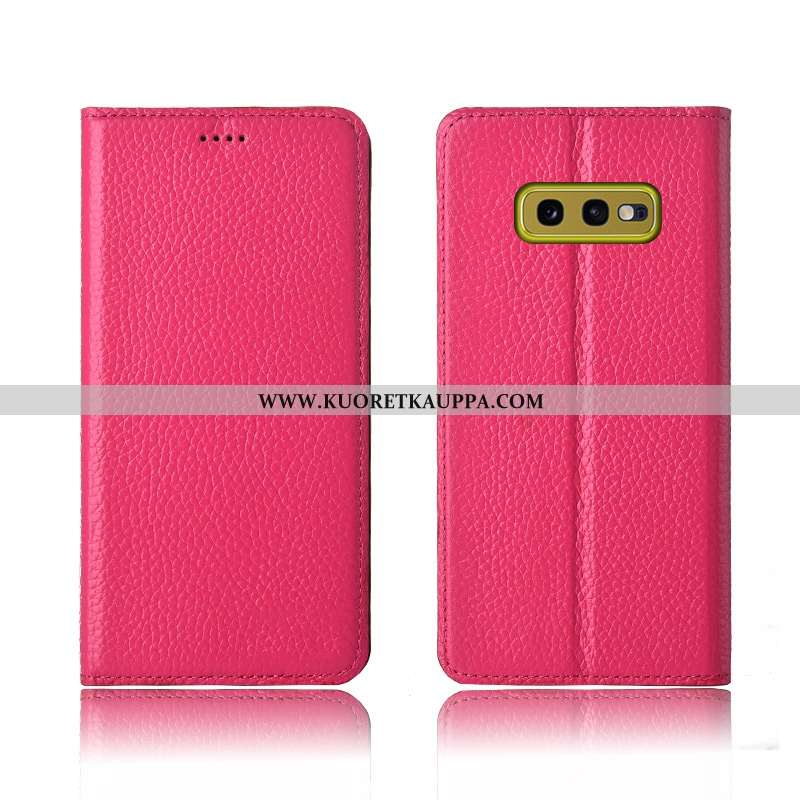 Kuori Samsung Galaxy S10e, Kuoret Samsung Galaxy S10e, Kotelo Samsung Galaxy S10e Suojaus Nahkakuori