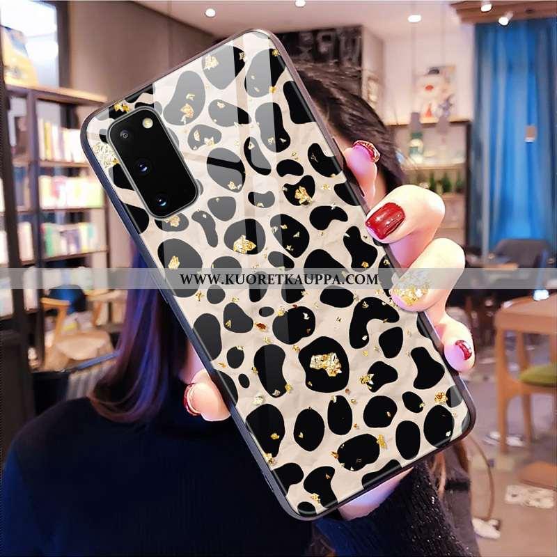 Kuori Samsung Galaxy S20, Kuoret Samsung Galaxy S20, Kotelo Samsung Galaxy S20 Kukkakuvio Lasi Kova