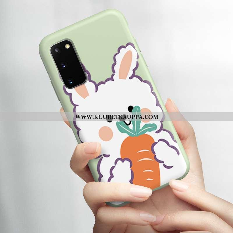 Kuori Samsung Galaxy S20, Kuoret Samsung Galaxy S20, Kotelo Samsung Galaxy S20 Suojaus Pesty Suede V