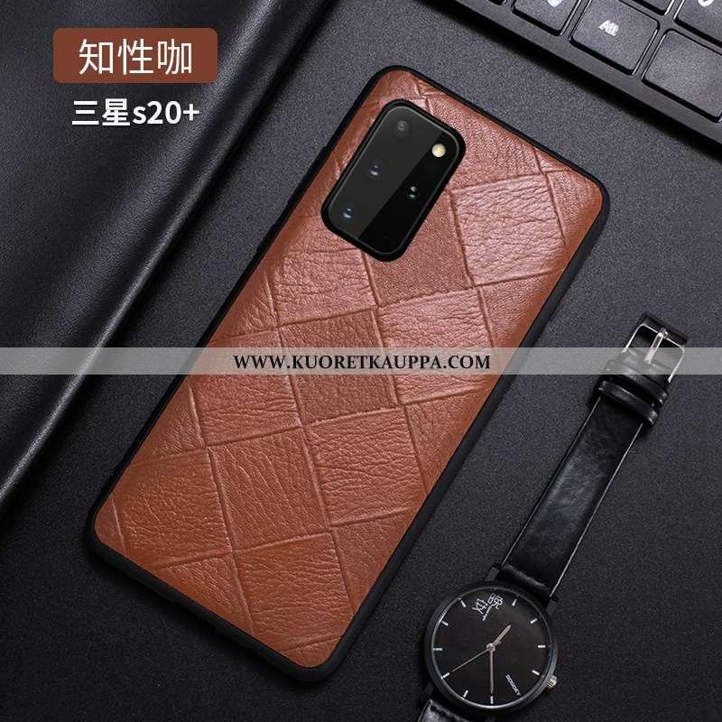 Kuori Samsung Galaxy S20+, Kuoret Samsung Galaxy S20+, Kotelo Samsung Galaxy S20+ Valo Nahkakuori Pu