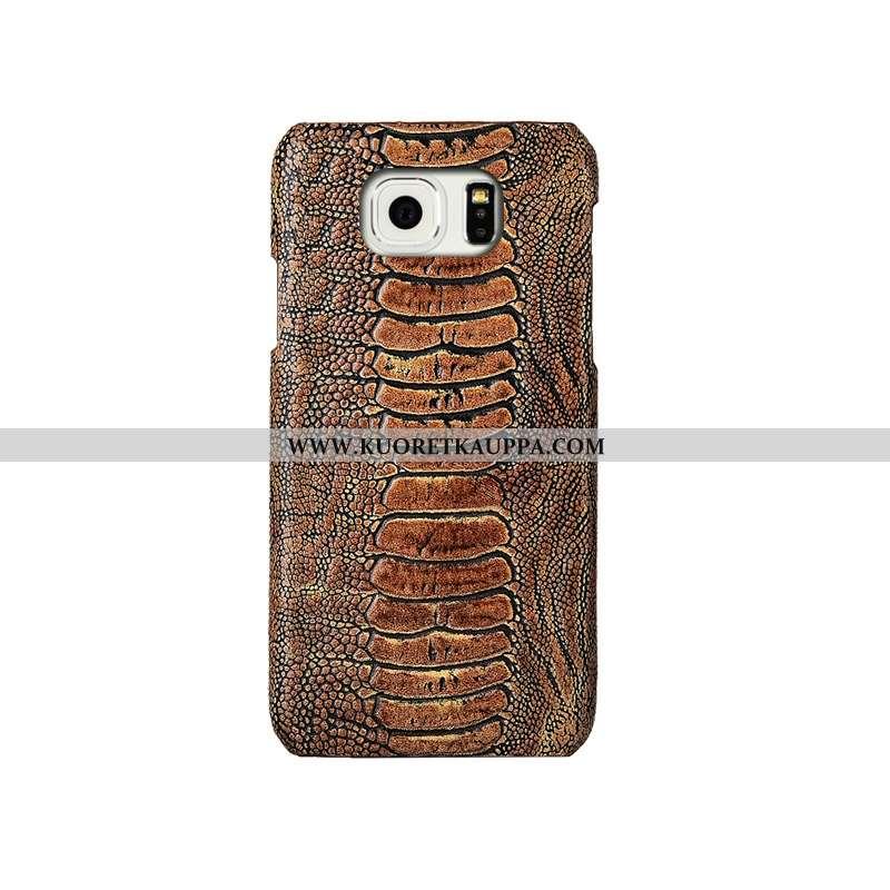 Kuori Samsung Galaxy S6, Kuoret Samsung Galaxy S6, Kotelo Samsung Galaxy S6 Luova Aito Nahka Takakan