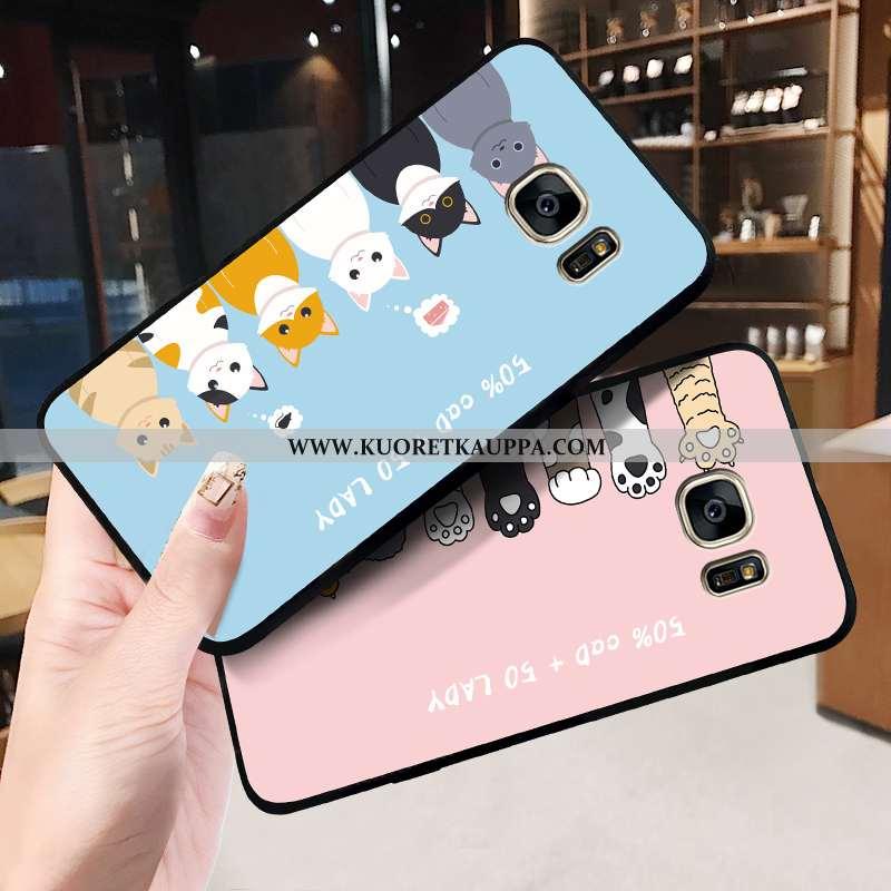 Kuori Samsung Galaxy S6, Kuoret Samsung Galaxy S6, Kotelo Samsung Galaxy S6 Pesty Suede Persoonallis