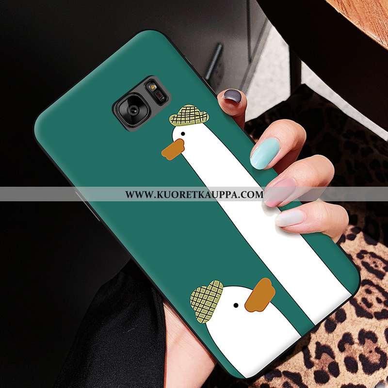 Kuori Samsung Galaxy S6, Kuoret Samsung Galaxy S6, Kotelo Samsung Galaxy S6 Silikoni Sarjakuva Pehme