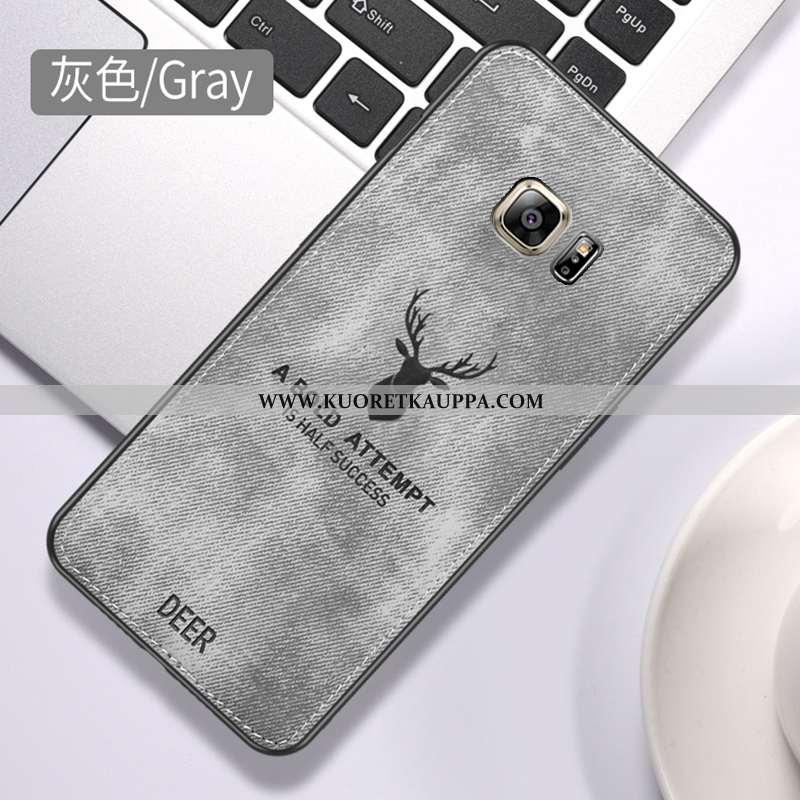 Kuori Samsung Galaxy S6, Kuoret Samsung Galaxy S6, Kotelo Samsung Galaxy S6 Suojaus Silikoni Harmaa