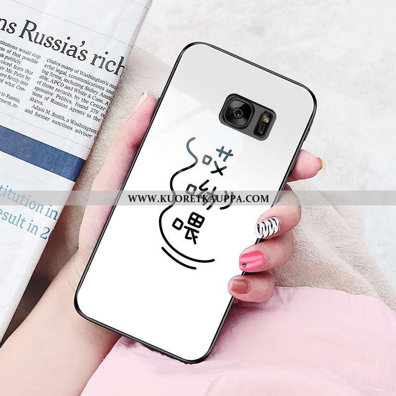Kuori Samsung Galaxy S7, Kuoret Samsung Galaxy S7, Kotelo Samsung Galaxy S7 Lasi Suuntaus Pehmeä Nes