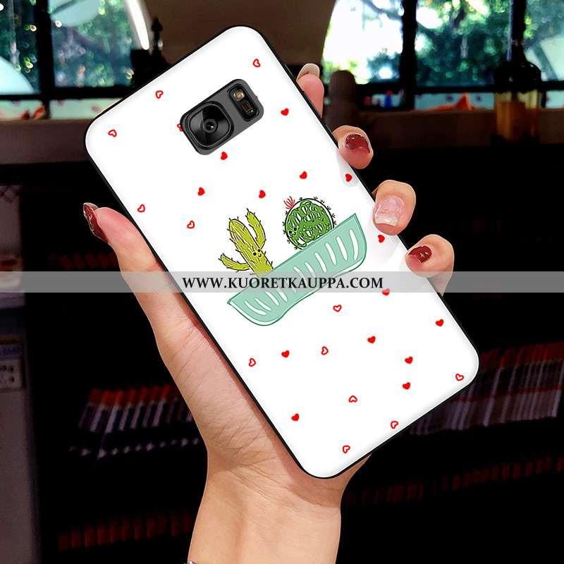 Kuori Samsung Galaxy S7, Kuoret Samsung Galaxy S7, Kotelo Samsung Galaxy S7 Sarjakuva Pehmeä Neste S
