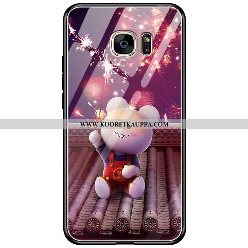 Kuori Samsung Galaxy S7, Kuoret Samsung Galaxy S7, Kotelo Samsung Galaxy S7 Sarjakuva Suojaus Murtum