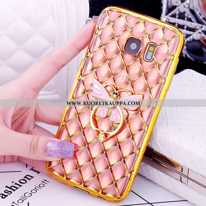 Kuori Samsung Galaxy S7, Kuoret Samsung Galaxy S7, Kotelo Samsung Galaxy S7 Suojaus Kukkakuvio Pinno
