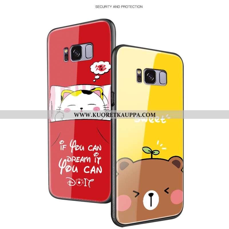 Kuori Samsung Galaxy S8+, Kuoret Samsung Galaxy S8+, Kotelo Samsung Galaxy S8+ Luova Sarjakuva Tähti