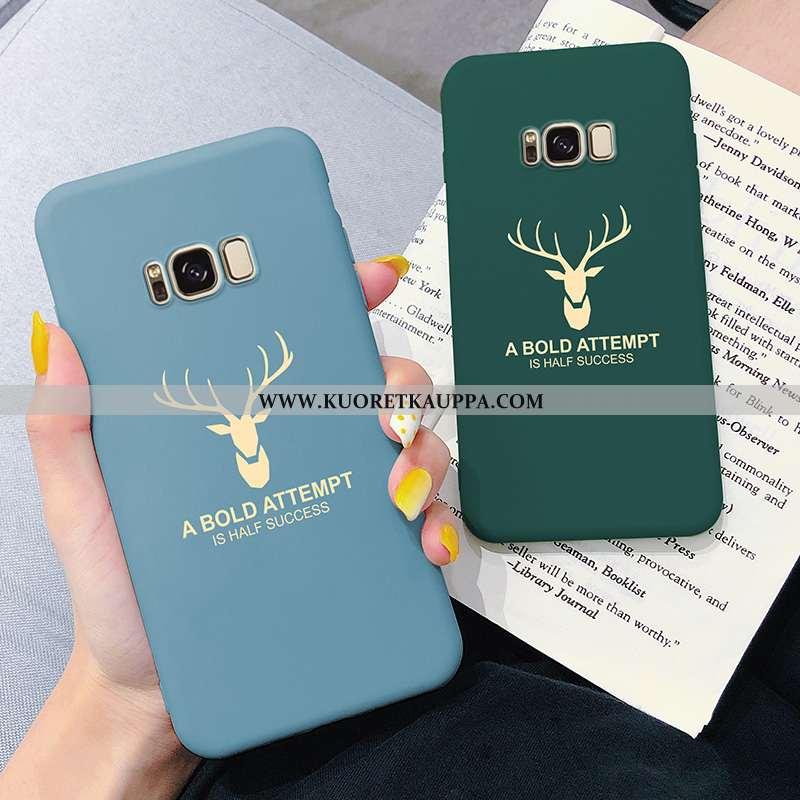 Kuori Samsung Galaxy S8, Kuoret Samsung Galaxy S8, Kotelo Samsung Galaxy S8 Pehmeä Neste Valo Sinine