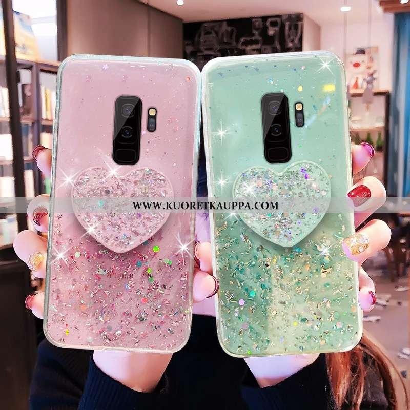 Kuori Samsung Galaxy S9+, Kuoret Samsung Galaxy S9+, Kotelo Samsung Galaxy S9+ Läpinäkyvä Luova Pien