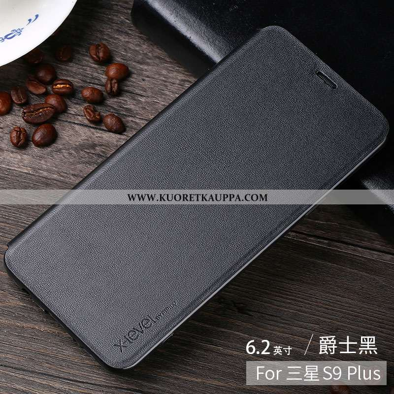 Kuori Samsung Galaxy S9+, Kuoret Samsung Galaxy S9+, Kotelo Samsung Galaxy S9+ Nahkakuori Persoonall