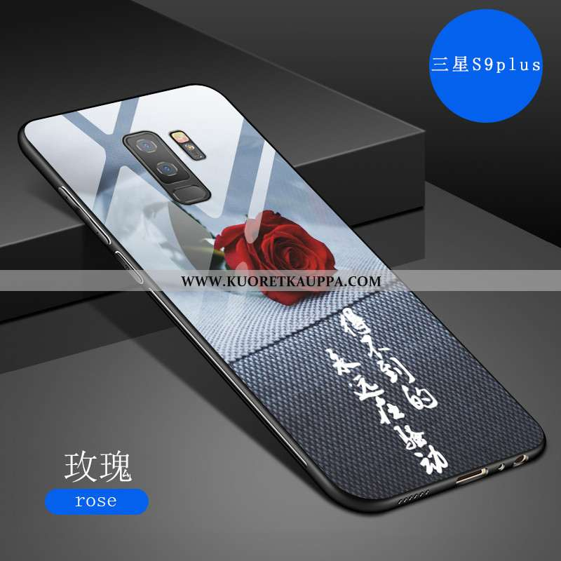 Kuori Samsung Galaxy S9+, Kuoret Samsung Galaxy S9+, Kotelo Samsung Galaxy S9+ Pehmeä Neste Suojaus