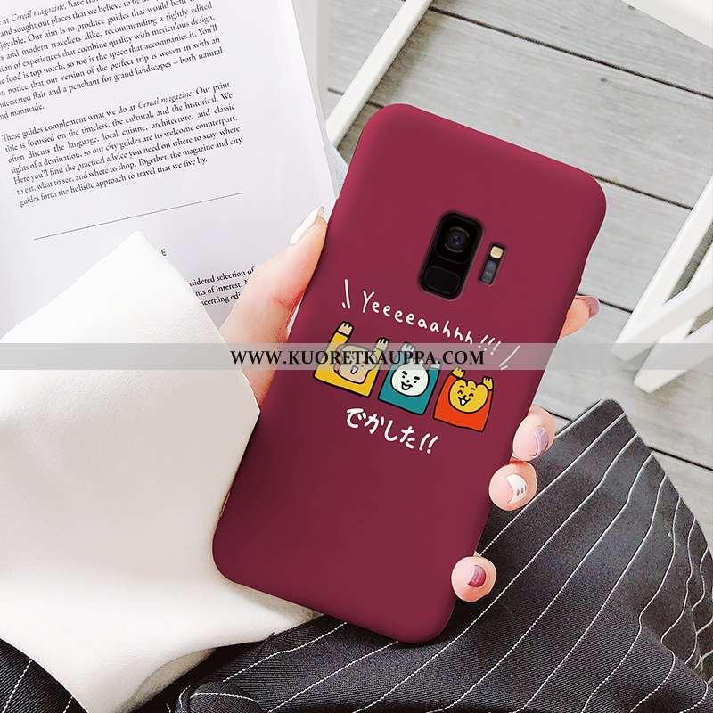 Kuori Samsung Galaxy S9, Kuoret Samsung Galaxy S9, Kotelo Samsung Galaxy S9 Pehmeä Neste Valo Siliko