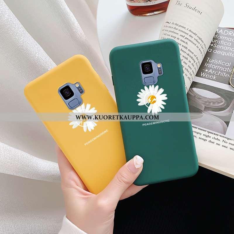 Kuori Samsung Galaxy S9, Kuoret Samsung Galaxy S9, Kotelo Samsung Galaxy S9 Pesty Suede Persoonallis