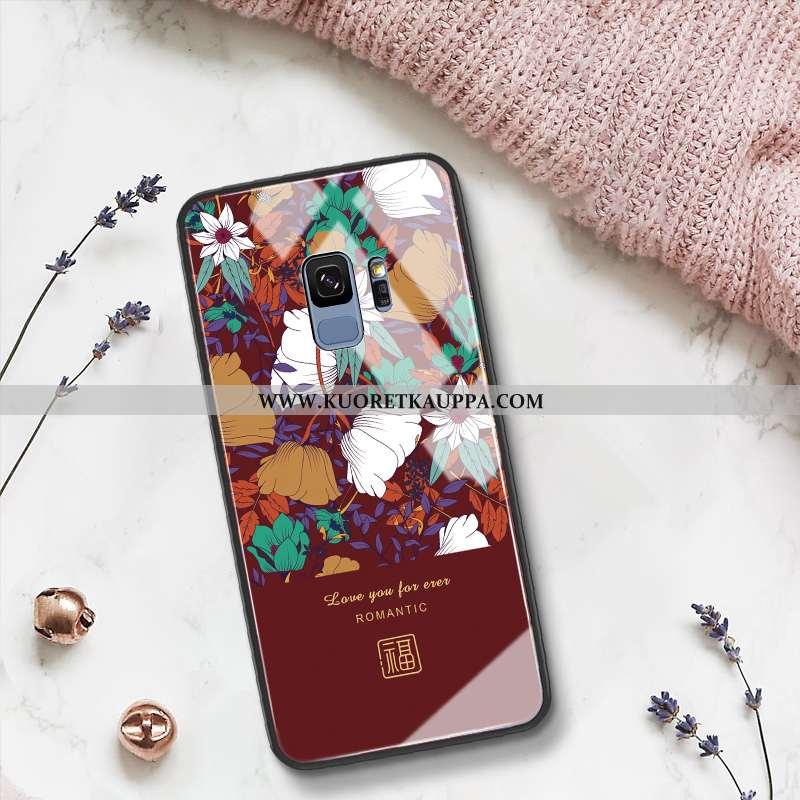 Kuori Samsung Galaxy S9, Kuoret Samsung Galaxy S9, Kotelo Samsung Galaxy S9 Suojaus Lasi Vuosikerta