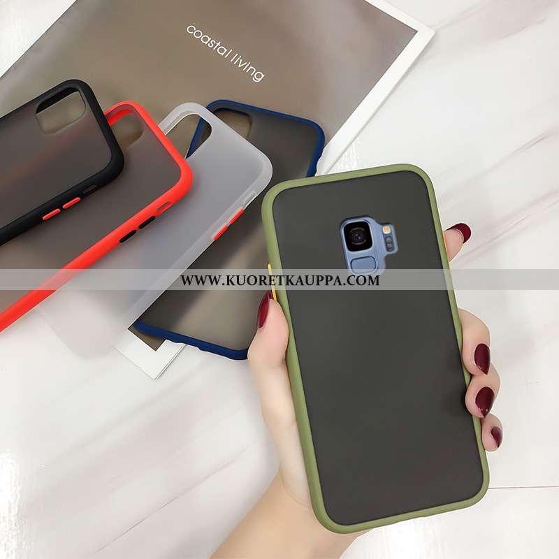 Kuori Samsung Galaxy S9, Kuoret Samsung Galaxy S9, Kotelo Samsung Galaxy S9 Suojaus Pesty Suede Täht