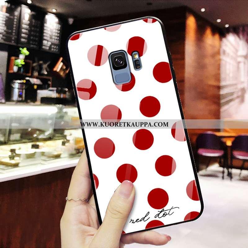 Kuori Samsung Galaxy S9, Kuoret Samsung Galaxy S9, Kotelo Samsung Galaxy S9 Ultra Valo Punainen Puhe