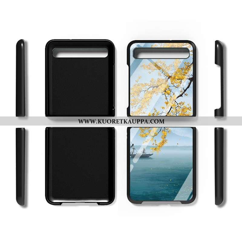 Kuori Samsung Z Flip, Kuoret Samsung Z Flip, Kotelo Samsung Z Flip Persoonallisuus Suojaus Murtumato