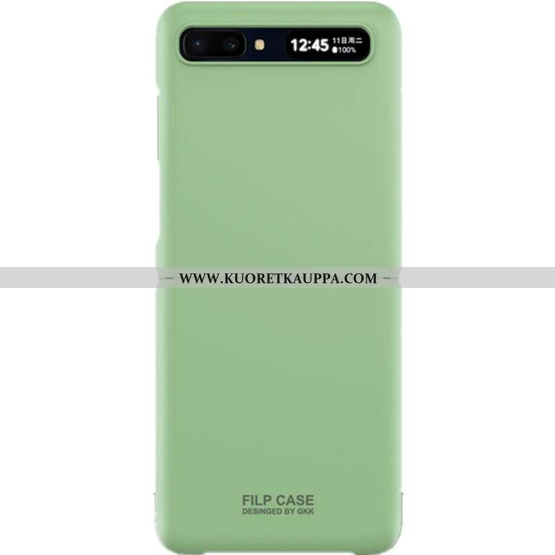 Kuori Samsung Z Flip, Kuoret Samsung Z Flip, Kotelo Samsung Z Flip Suuntaus Ultra Murtumaton Net Red