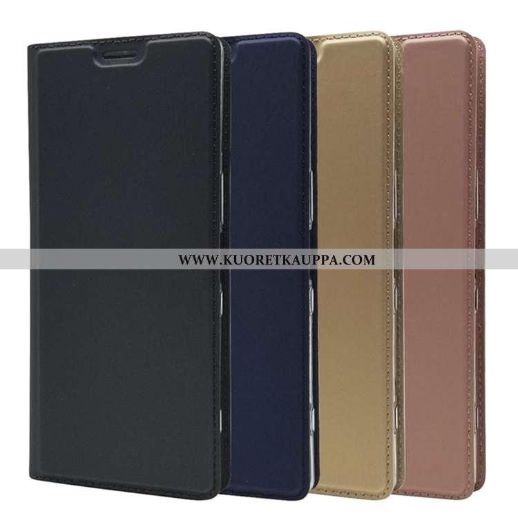 Kuori Sony Xperia 1, Kuoret Sony Xperia 1, Kotelo Sony Xperia 1 Läpinäkyvä Silikoni Musta Mustat