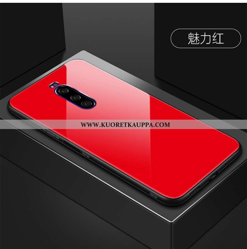 Kuori Sony Xperia 1, Kuoret Sony Xperia 1, Kotelo Sony Xperia 1 Lasi Suojaus Punainen Monivärinen