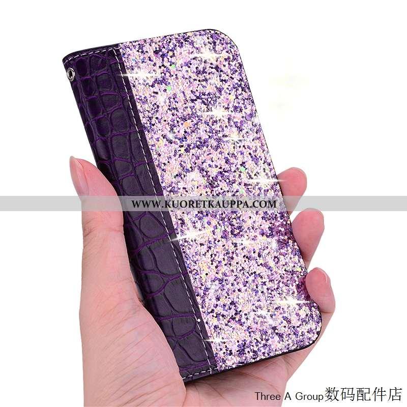 Kuori Sony Xperia 10, Kuoret Sony Xperia 10, Kotelo Sony Xperia 10 Kortti Violetti Murtumaton Puheli