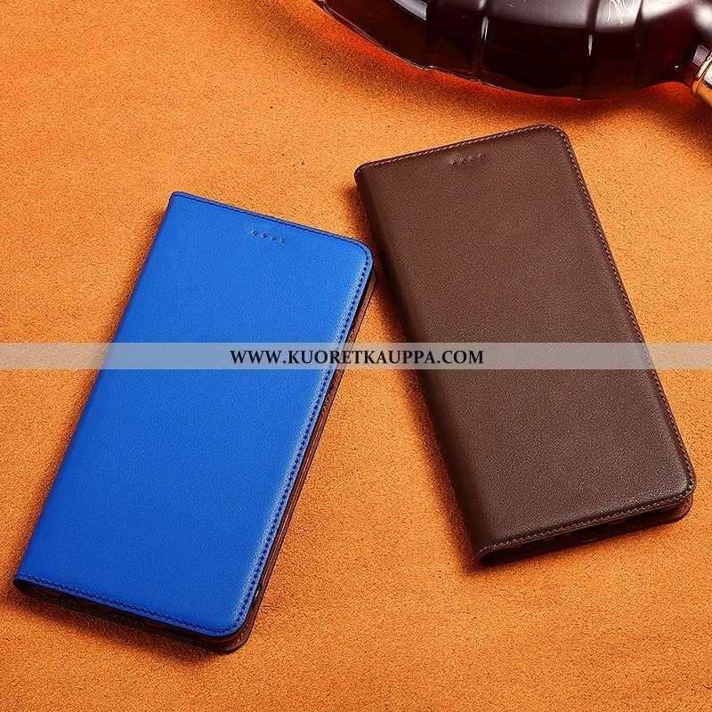 Kuori Sony Xperia L1, Kuoret Sony Xperia L1, Kotelo Sony Xperia L1 Aito Nahka Pehmeä Neste Silikoni