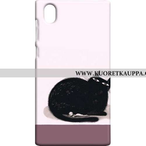 Kuori Sony Xperia L1, Kuoret Sony Xperia L1, Kotelo Sony Xperia L1 Pesty Suede Suojaus Jauhe Puhelim