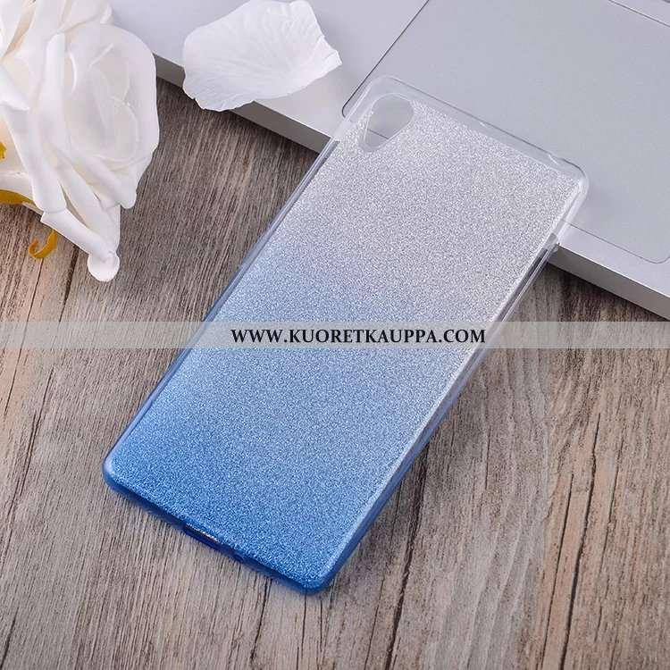 Kuori Sony Xperia Xa, Kuoret Sony Xperia Xa, Kotelo Sony Xperia Xa Silikoni Suojaus Sininen Puhelime