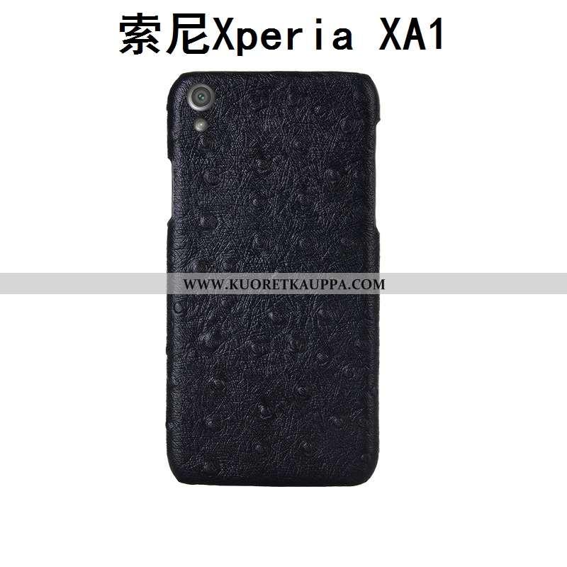 Kuori Sony Xperia Xa1, Kuoret Sony Xperia Xa1, Kotelo Sony Xperia Xa1 Aito Nahka Kukkakuvio Puhelime