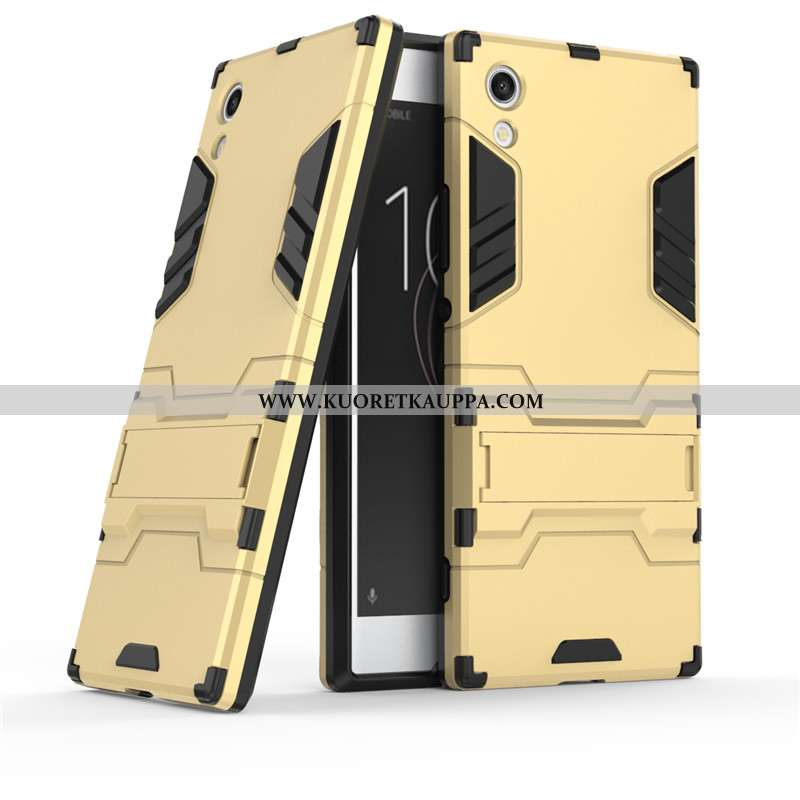 Kuori Sony Xperia Xa1, Kuoret Sony Xperia Xa1, Kotelo Sony Xperia Xa1 Suojaus Kulta Murtumaton Kulta