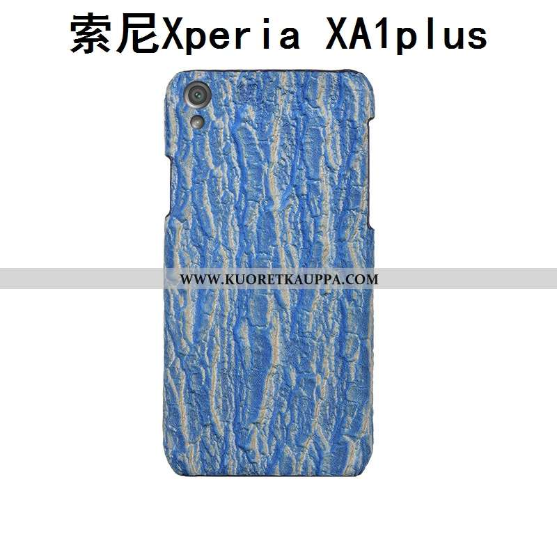 Kuori Sony Xperia Xa1 Plus, Kuoret Sony Xperia Xa1 Plus, Kotelo Sony Xperia Xa1 Plus Aito Nahka Nahk