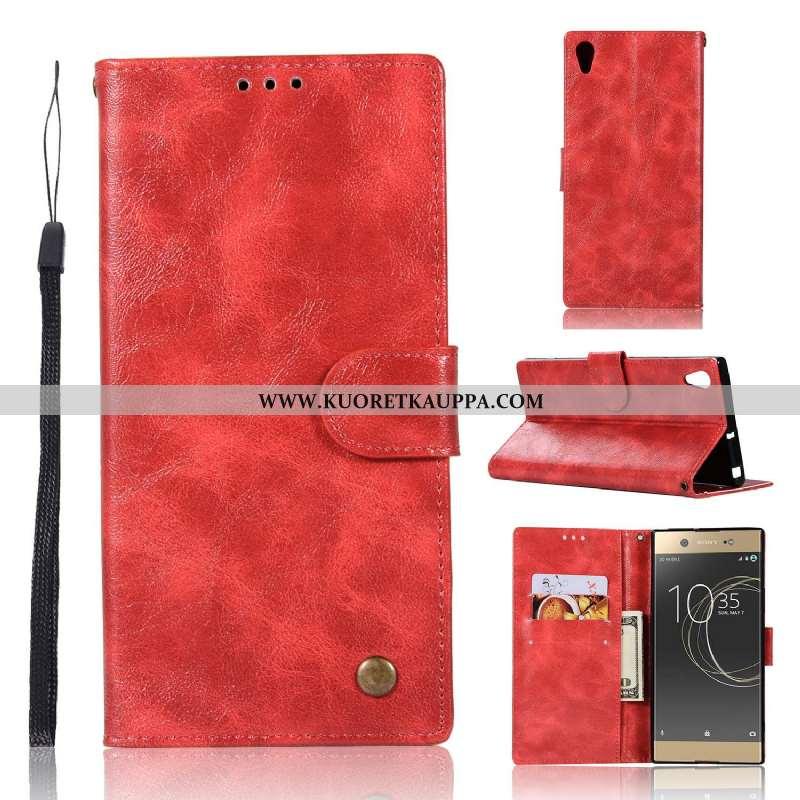 Kuori Sony Xperia Xa1 Plus, Kuoret Sony Xperia Xa1 Plus, Kotelo Sony Xperia Xa1 Plus Nahkakuori Suoj