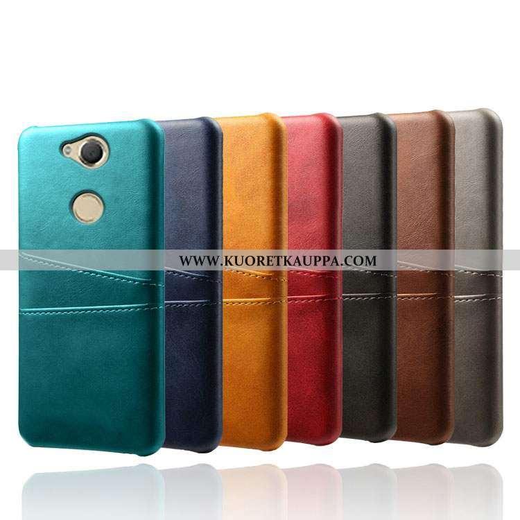 Kuori Sony Xperia Xa2, Kuoret Sony Xperia Xa2, Kotelo Sony Xperia Xa2 Suojaus Kukkakuvio Kova Vihreä