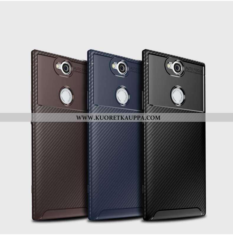 Kuori Sony Xperia Xa2 Plus, Kuoret Sony Xperia Xa2 Plus, Kotelo Sony Xperia Xa2 Plus Kukkakuvio Sili