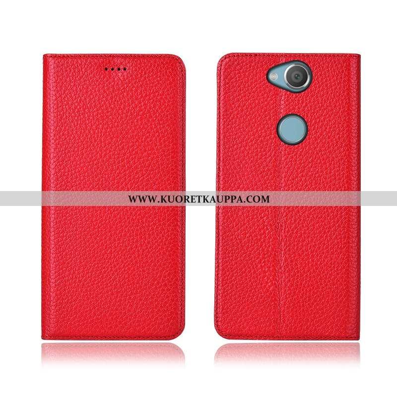 Kuori Sony Xperia Xa2 Plus, Kuoret Sony Xperia Xa2 Plus, Kotelo Sony Xperia Xa2 Plus Nahkakuori Aito
