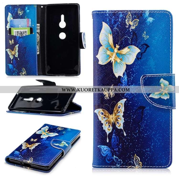 Kuori Sony Xperia Xz2, Kuoret Sony Xperia Xz2, Kotelo Sony Xperia Xz2 Kohokuviointi Suuntaus Tummans