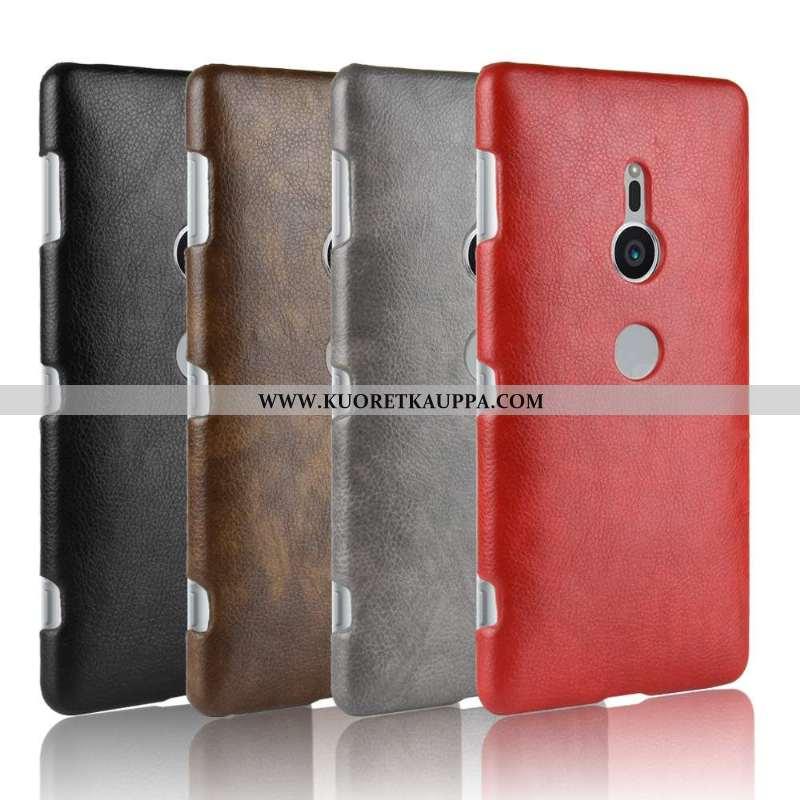 Kuori Sony Xperia Xz2, Kuoret Sony Xperia Xz2, Kotelo Sony Xperia Xz2 Suojaus Nahka Liiketoiminta Pu