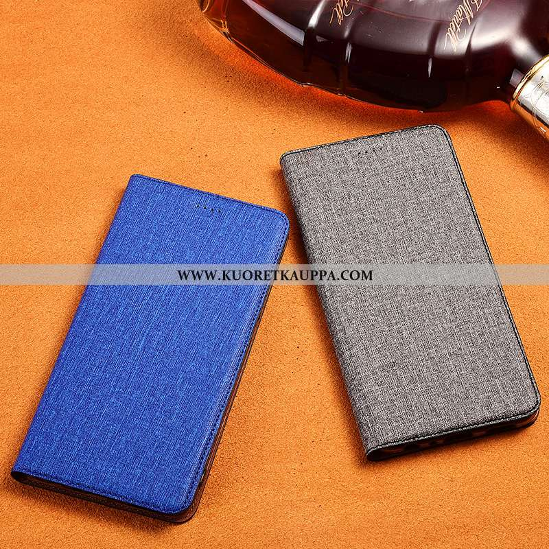 Kuori Sony Xperia Xz3, Kuoret Sony Xperia Xz3, Kotelo Sony Xperia Xz3 Pellava Nahkakuori Murtumaton