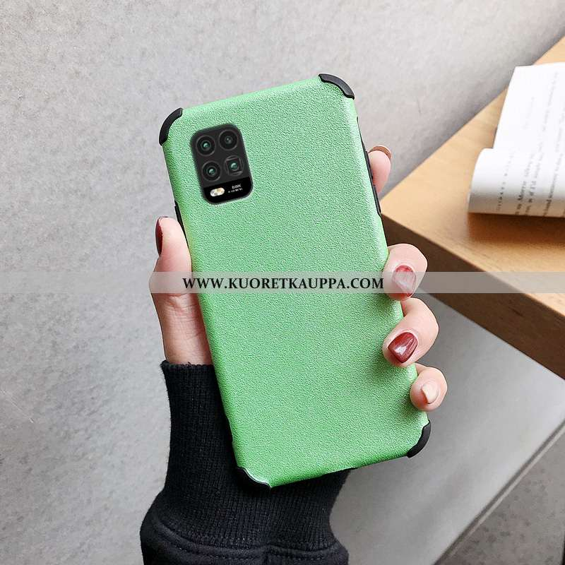Kuori Xiaomi Mi 10 Lite, Kuoret Xiaomi Mi 10 Lite, Kotelo Xiaomi Mi 10 Lite Silikoni Suojaus Vihreä