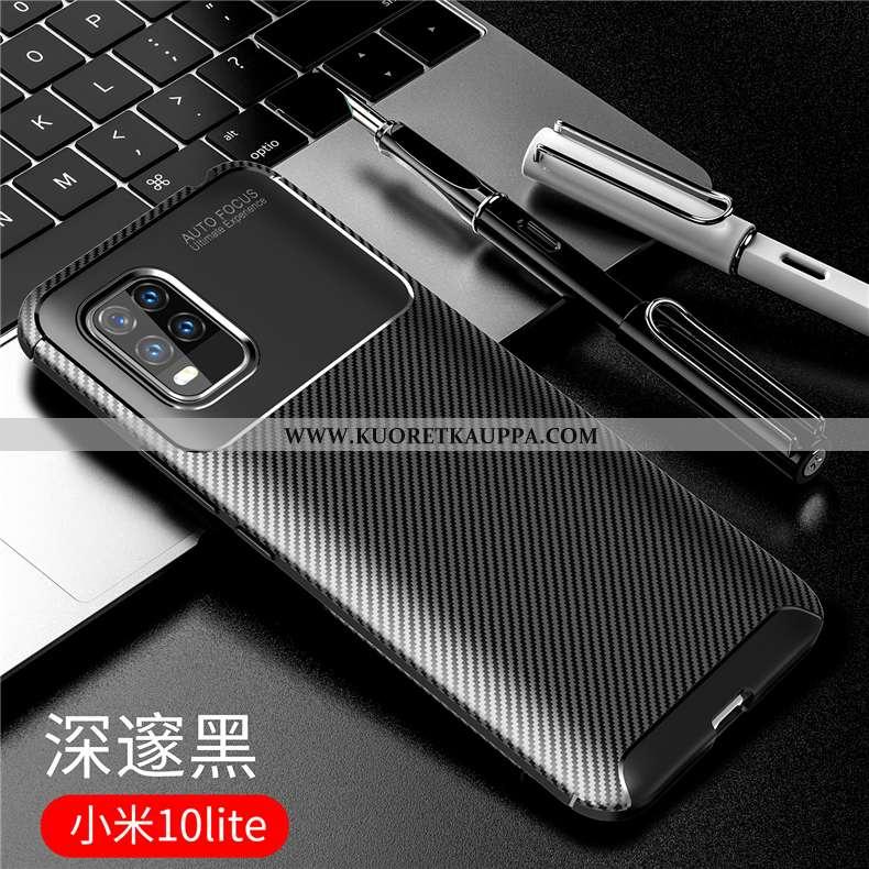 Kuori Xiaomi Mi 10 Lite, Kuoret Xiaomi Mi 10 Lite, Kotelo Xiaomi Mi 10 Lite Suojaus Pesty Suede Sili