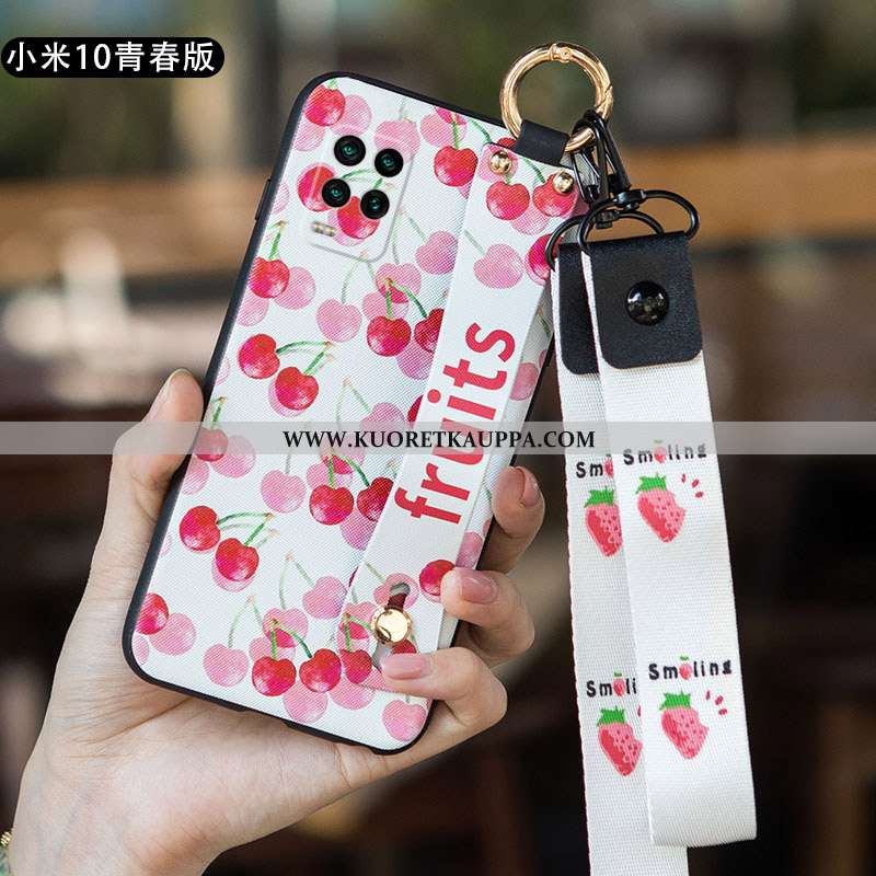Kuori Xiaomi Mi 10 Lite, Kuoret Xiaomi Mi 10 Lite, Kotelo Xiaomi Mi 10 Lite Ultra Pehmeä Neste Suunt