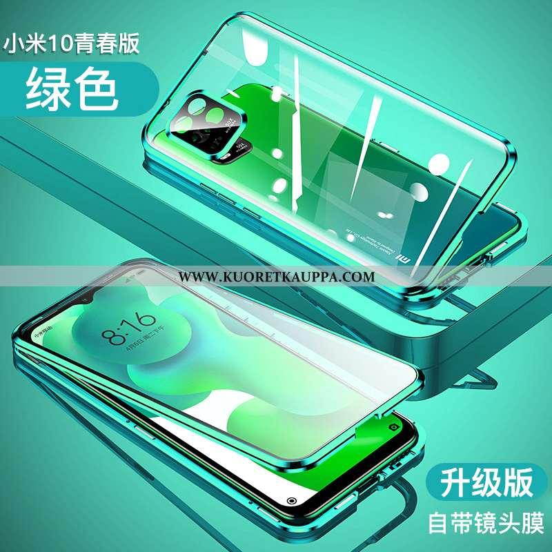 Kuori Xiaomi Mi 10 Lite, Kuoret Xiaomi Mi 10 Lite, Kotelo Xiaomi Mi 10 Lite Valo Metalli Kehys Kaksi