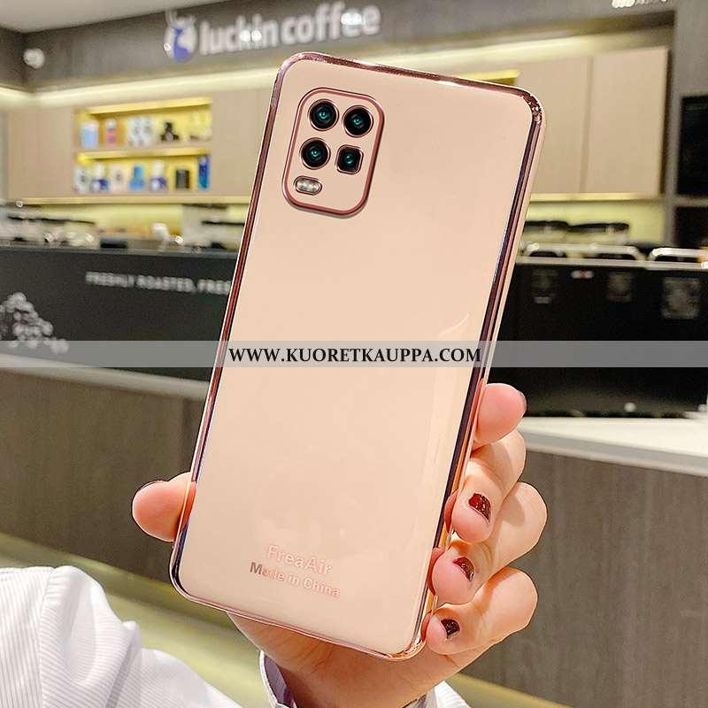 Kuori Xiaomi Mi 10 Lite, Kuoret Xiaomi Mi 10 Lite, Kotelo Xiaomi Mi 10 Lite Valo Silikoni Jauhe Pink