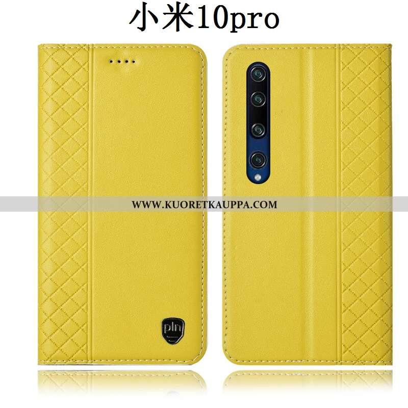 Kuori Xiaomi Mi 10 Pro, Kuoret Xiaomi Mi 10 Pro, Kotelo Xiaomi Mi 10 Pro Nahkakuori Suojaus Puhelime