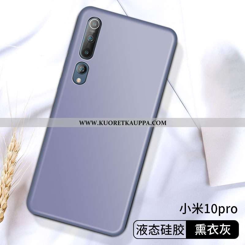Kuori Xiaomi Mi 10 Pro, Kuoret Xiaomi Mi 10 Pro, Kotelo Xiaomi Mi 10 Pro Ultra Pehmeä Neste Kehys Al